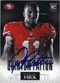 QUINTON PATTON SAN FRANCISCO 49ers AUTOGRAPHED ROOKIE FOOTBALL CARD #121213H