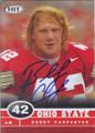 Bobby Carpenter Autographed Football Card 1213