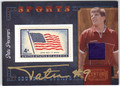 TATU PECORARI AUTOGRAPHED & NUMBERED PIECE OF THE GAME POSTAGE STAMP BOWLING CARD 121312C