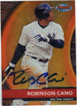 ROBINSON CANO NEW YORK YANKEES AUTOGRAPHED BASEBALL CARD #121312M