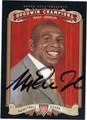 MAGIC JOHNSON AUTOGRAPHED BASKETBALL CARD #121312K