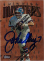 JOHN ELWAY AUTOGRAPHED FOOTBALL CARD #121312L