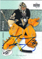 MARC-ANDRE FLEURY AUTOGRAPHED HOCKEY CARD #121312N