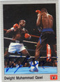 DWIGHT MUHAMMAD QAWI AUTOGRAPHED BOXING CARD #121313L