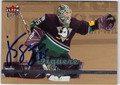 JEAN-SEBASTIEN GIGUERE AUTOGRAPHED HOCKEY CARD #121412G