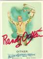 RANDY OITKER AUTOGRAPHED CARD #121510A