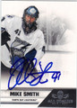 MIKE SMITH AUTOGRAPHED HOCKEY CARD #121512M