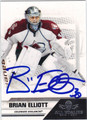 BRIAN ELLIOTT AUTOGRAPHED HOCKEY CARD #121612H