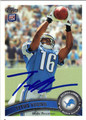 TITUS YOUNG AUTOGRAPHED ROOKIE FOOTBALL CARD #121612G