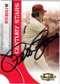 PETE ROSE CINCINNATI REDS AUTOGRAPHED BASEBALL CARD #121712N