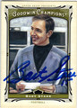 BART STARR ALABAMA CRIMSON TIDE AUTOGRAPHED FOOTBALL CARD #121713D