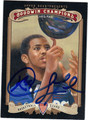 CHRIS PAUL AUTOGRAPHED BASKETBALL CARD #121812B