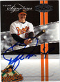 RAFAEL PALMEIRO AUTOGRAPHED & NUMBERED BASEBALL CARD #121911H