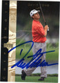 DAVID TOMS AUTOGRAPHED GOLF CARD #121911J