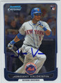 JORDANY VALDESPIN AUTOGRAPHED ROOKIE BASEBALL CARD #122112C
