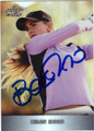 BELEN MOZO AUTOGRAPHED & NUMBERED GOLF CARD #122112i