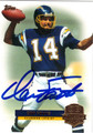 DAN FOUTS AUTOGRAPHED FOOTBALL CARD #122212F
