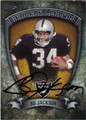 BO JACKSON LOS ANGELES RAIDERS AUTOGRAPHED FOOTBALL CARD #122213D