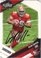 GLEN COFEE SAN FRANCISCO 49ers AUTOGRAPHED & NUMBERED ROOKIE FOOTBALL CARD #122113i