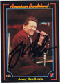 JERRY LEE LEWIS AUTOGRAPHED CARD #122213P