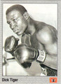 DICK TIGER BOXING CARD #122213U