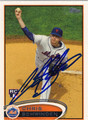 CHRIS SCHWINDEN AUTOGRAPHED ROOKIE BASEBALL CARD #122312B