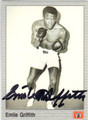 EMILE GRIFFITH AUTOGRAPHED BOXING CARD #122313A