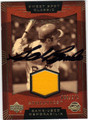 SAL BANDO ATHLETICS AUTOGRAPHED & NUMBERED PIECE OF THE GAME BASEBALL CARD #122313H