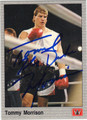 TOMMY MORRISON AUTOGRAPHED BOXING CARD #122313i