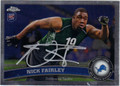 NICK FAIRLEY AUTOGRAPHED ROOKIE FOOTBALL CARD #122412D
