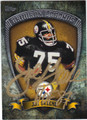 JOE GREENE PITTSBURGH STEELERS AUTOGRAPHED FOOTBALL CARD #122613N
