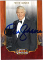 PETER GRAVES AUTOGRAPHED CARD #122912H