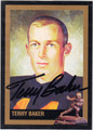 TERRY BAKER AUTOGRAPHED HEISMAN FOOTBALL CARD #122913E