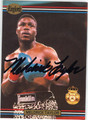 MELDRICK TAYLOR AUTOGRAPHED BOXING CARD #122813B