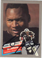 BO JACKSON AUTOGRAPHED FOOTBALL CARD #122912D