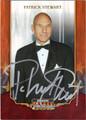 PATRICK STEWART AUTOGRAPHED CARD #123112H