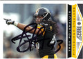 TROY POLAMALU PITTSBURGH STEELERS AUTOGRAPHED FOOTBALL CARD #123113B