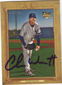 CHASE WRIGHT AUTOGRAPHED BASEBALL CARD #12411i