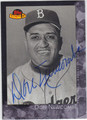 DON NEWCOMBE BROOKLYN DODGERS AUTOGRAPHED BASEBALL CARD #12513A