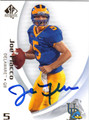 JOE FLACCO UNIVERSITY OF DELAWARE AUTOGRAPHED FOOTBALL CARD #12813B