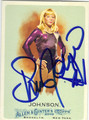 SHAWN JOHNSON AUTOGRAPHED OLYMPIC GYMNASTICS CARD #12813C