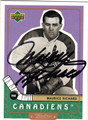 MAURICE RICHARD MONTREAL CANADIENS AUTOGRAPHED HOCKEY CARD #12813G