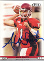 ALEX SMITH UNIVERSITY OF UTAH UTES AUTOGRAPHED ROOKIE FOOTBALL CARD #12913A