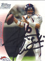 Jake Plummer Autographed Football Card 1385