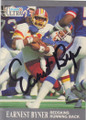 Earnest Byner Autographed Football Card 1324