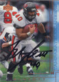Mike Alstott Autographed Football Card 1521