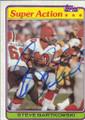 Steve Bartkowski Autographed Football Card 1619
