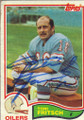 Toni Fritsch Autographed Vintage Football Card 1659