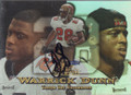 Warrick Dunn Autographed Football Card 1687