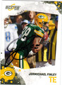 JERMICHAEL FINLEY AUTOGRAPHED FOOTBALL CARD #20211H